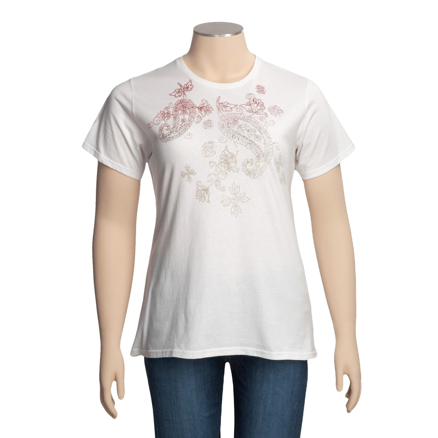 Columbia Sportswear Pretty Paisley T Shirt For Plus Size