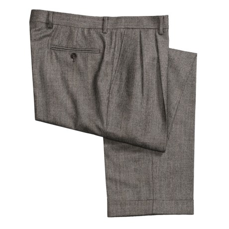 Lauren by Ralph Lauren Wool Plaid Dress Pants - Pleated (For Men)