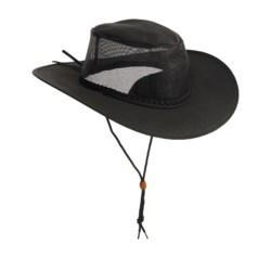 Kakadu Australia Townsville Breeze Packable Hat - UPF 50+, Ventilating Mesh (For Men and Women)