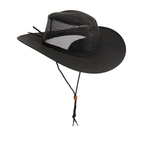 Kakadu Australia Townsville Breeze Packable Hat - UPF 50+, Ventilating Mesh (For Men and Women)