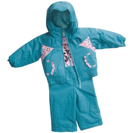 Columbia Sportswear Arctic Andrea Bib Snow Pants and Jacket - Insulated, Reversible (For Infants)