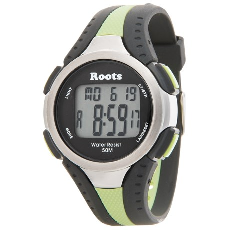 Roots Blackcomb Digital Display Quartz Chronograph Watch
