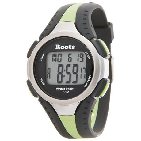 Roots Blackcomb Digital Display Quartz Chronograph Watch