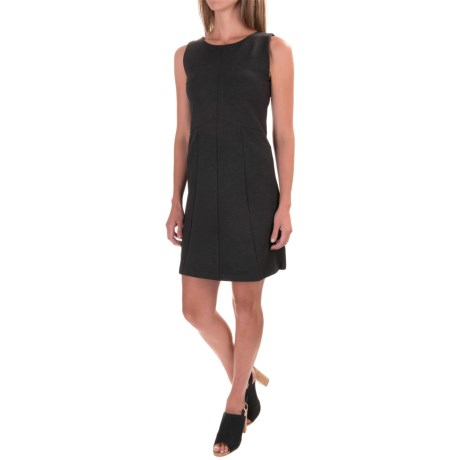 Lilla P Ponte Seamed Dress - Sleeveless (For Women)