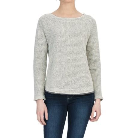 Lilla P Novelty Knit Raglan Shirt - Long Sleeve (For Women)