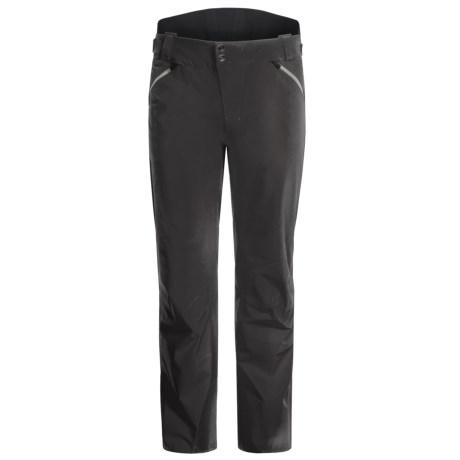 Mountain Force Carbon Ski Pants - Waterproof, Insulated (For Men)