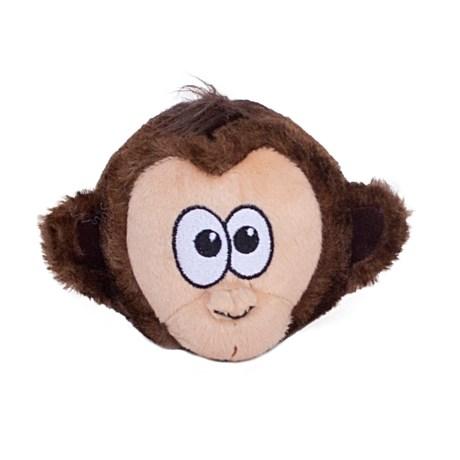 Outward Hound Tosserz Monkey Dog Toy - Squeaker