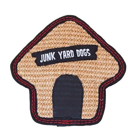 Outward Hound Tough Seamz Dog House Chew Toy - Squeaker