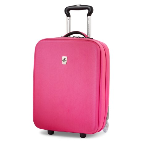 """Atlantic Debut Hardside Upright Rolling Carry-On Suitcase - 20"""""""