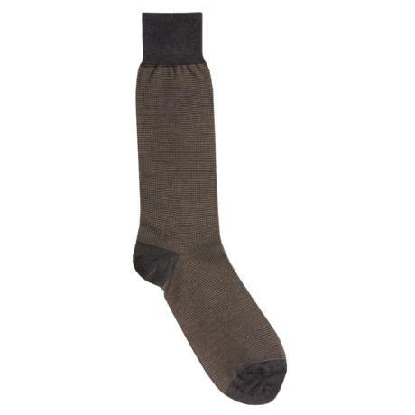 Cole Haan Classic Birdseye Dress Socks - Mid-Calf (For Men)