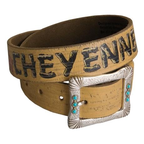 Leather Island by Bill Lavin Tribute to Cheyenne Belt (For Women)