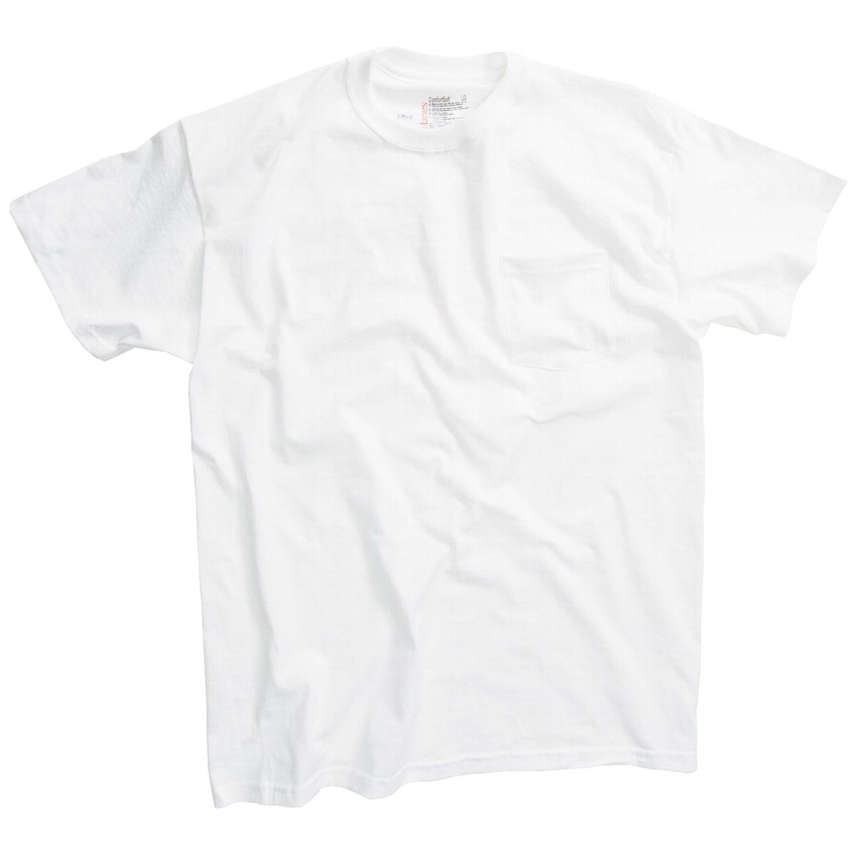 Hanes Shirt Hanes Tagless® Pocket T-shirts