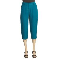 Two Star Dog Summer Capri Pants - Linen (For Women)