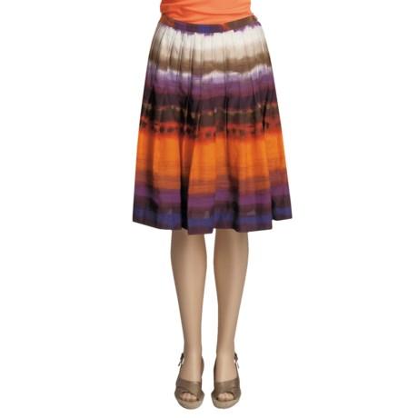 Two Star Dog Anita Skirt - Cotton-Silk Watercolor (For Women)