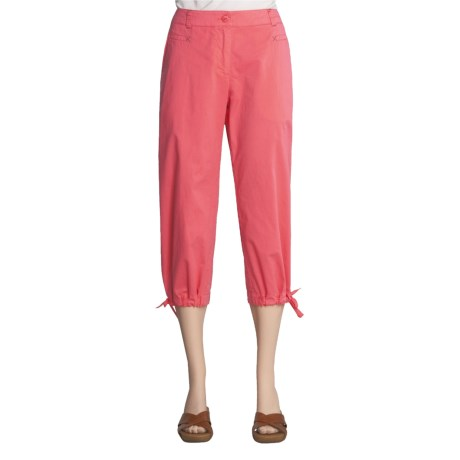 Two Star Dog Gina Crop Pants - Garment Dyed, Stretch Twill (For Women)