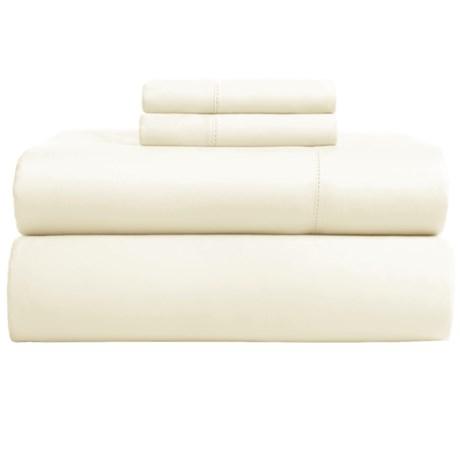 Elite Home Andiamo Cotton Sateen Sheet Set - King, 500 TC