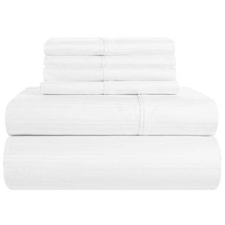 Elite Home Carlisle Sheet Set - Queen, 400 TC