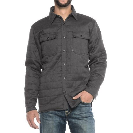 Avalanche Monti Insulated Shirt Jacket - Long Sleeve (For Men)