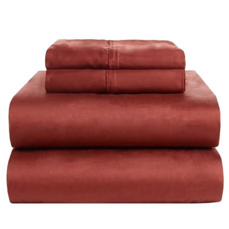 Elite Home Remington Solid Sheet Set - Queen, 525 TC