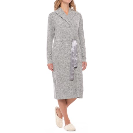 Aegean Apparel Weekend Fleece Robe - Long Sleeve (For Women)