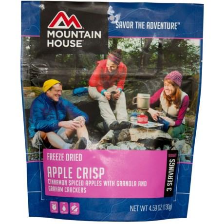Mountain House Apple Crisp - 3 Servings