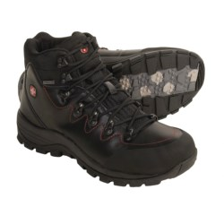 Wenger Alpina Mid Hiking Boots - Waterproof, Full-Grain Leather (For Men)
