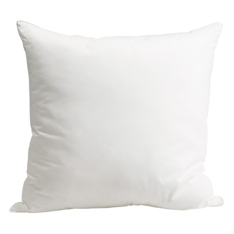 Royal Velvet Oversized Euro Pillows - Pair, 28x28""