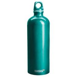 Sigg Classic Aluminum Water Bottle - 1.0L, Screw Top, BPA-Free