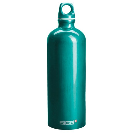 Sigg Classic Aluminum Water Bottle - 1.0L, Screw Top, BPA-Free
