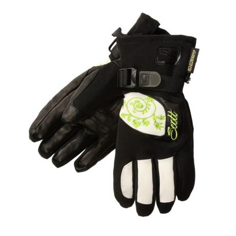 Scott USA Podium Ski Gloves - Waterproof, Insulated (For Women)