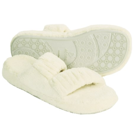 Acorn Spa Slippers - Wide (For Women)