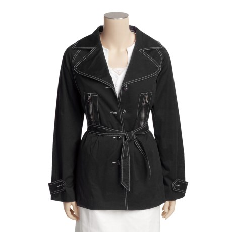 Tyler Boe Billie Jean Jacket - Stretch Cotton Sateen (For Women)
