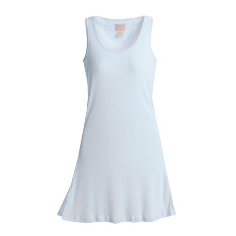 Paddi Murphy Softies Chloe Tank Nightgown - Ribbed (For Women)