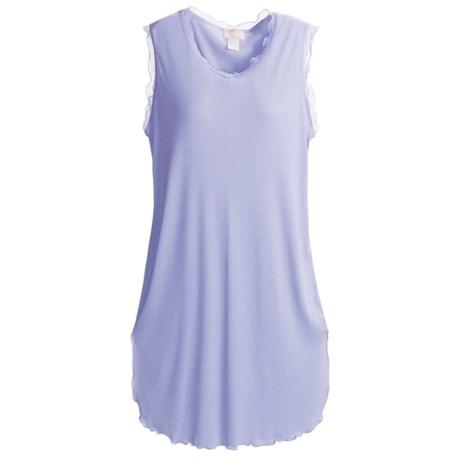 Paddi Murphy Softies Nightgown - Georgette Trim, Sleeveless (For Women)