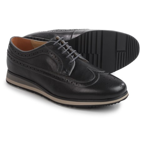 Florsheim Flux Wingtip Oxford Shoes - Leather (For Men)