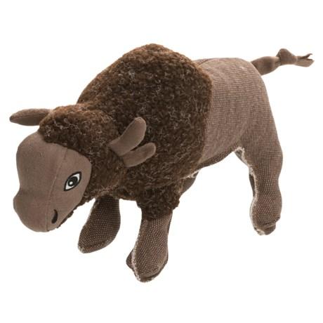 Happy Tails Critterz Buffalo Adventure Dog Toy