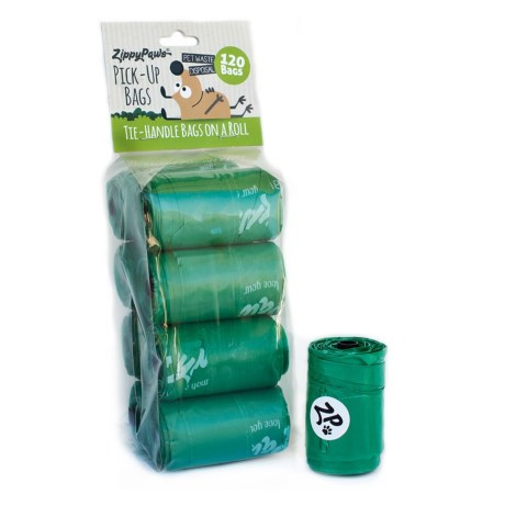 ZippyPaws Zippypaws Pet Waste Disposal Bags - 120-Count
