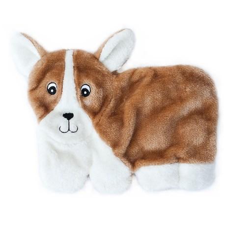 ZippyPaws Squeakie Pups Corgi Dog Toy