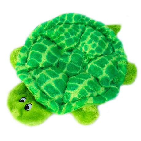 ZippyPaws Squeakie Crawler Slowpoke the Turtle Dog Toy