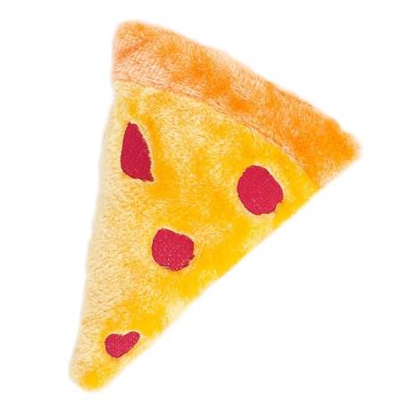 ZippyPaws Emojiz Pizza Dog Toy - Squeaker