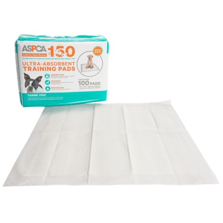 ASPCA Scented Dog Training Pads - 100-Pack