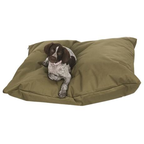 Barker Bilt Dog Bed - 600 Denier, Medium, Rectangular