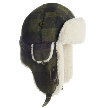 Woolrich Wool Blend Aviator Hat (For Men)