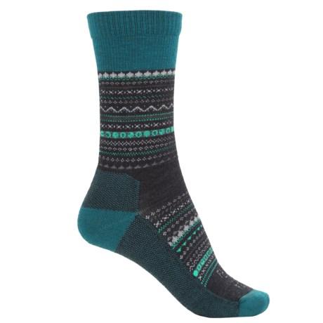 Farm to Feet Conover Fair Isle Socks - Merino Wool, Crew (For Women)