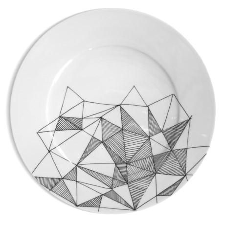 Bambeco Graphique Porcelain Dinner Plate