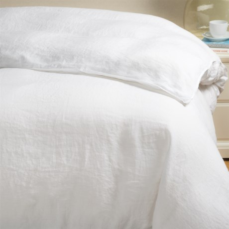 Bambeco Pure Linen Duvet Cover - Full-Queen