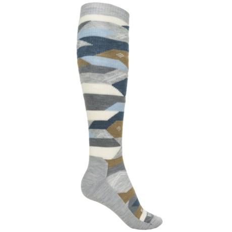 Farm to Feet Billings Everyday Socks - Merino Wool, Over the Calf (For Women)