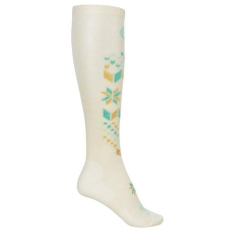 Farm to Feet Alpine Meadows Snow Sports Socks - Merino Wool, Over the Calf (For Women)