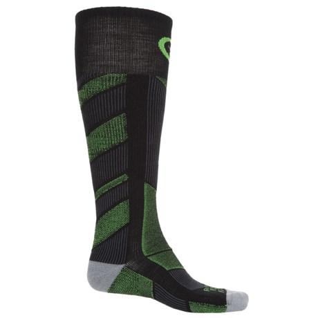 Farm to Feet Park City Ski Socks - Merino Wool, Over the Calf (For Men)