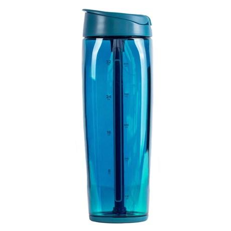 Trimr Duo Squared Shaker Bottle - BPA-Free, 38 fl.oz.